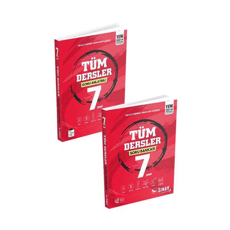 Sınav Yayınları 7. Sınıf Tüm Dersler Konu Soru Seti