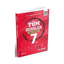 Sınav Dergisi Yayınları - Sınav Yayınları 7. Sınıf Tüm Dersler Soru Bankası