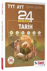 Sınav Dergisi Yayınları - Sınav Yayınları TYT AYT Tarih 24 Adımda Konu Anlatımlı Soru Bankası