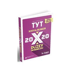 Sınav Dergisi Yayınları - Sınav Yayınları TYT Sosyal Bilimler 20×20 Düzey Denemeleri