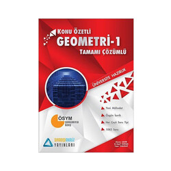 Sıradışıanaliz Yayınları - Sıradışıanaliz Yayınları TYT Geometri 1 Konu Özetli Tamamı Çözümlü Soru Bankası