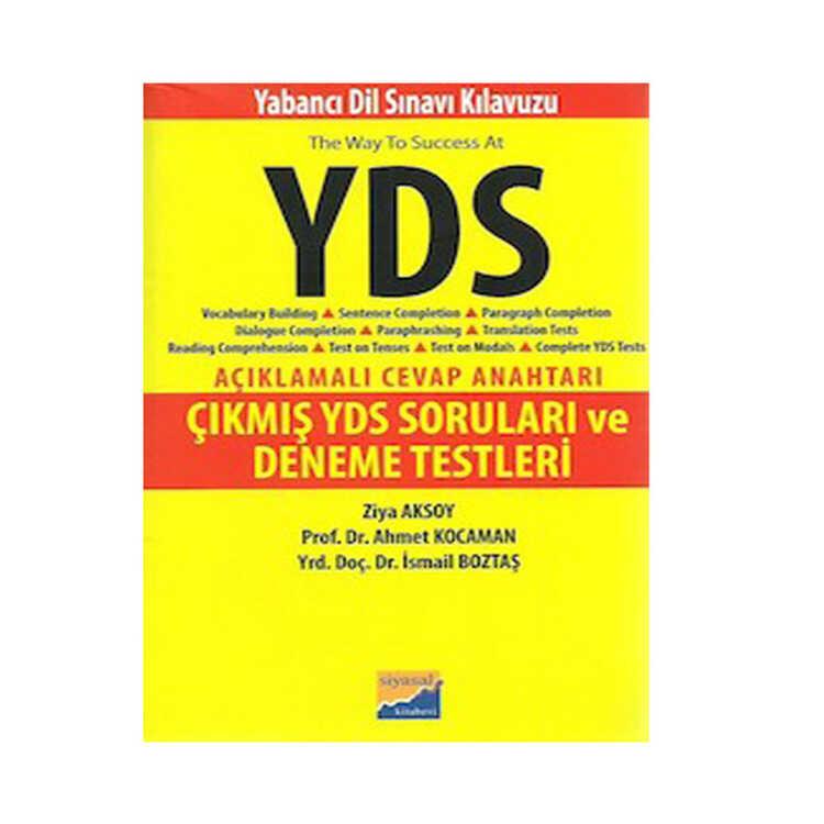 Siyasal Kitabevi YDS Çıkmış Sorular ve Deneme Testleri