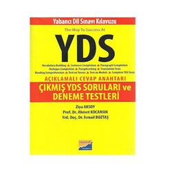 Siyasal Kitabevi Yayınları - Siyasal Kitabevi YDS Çıkmış Sorular ve Deneme Testleri