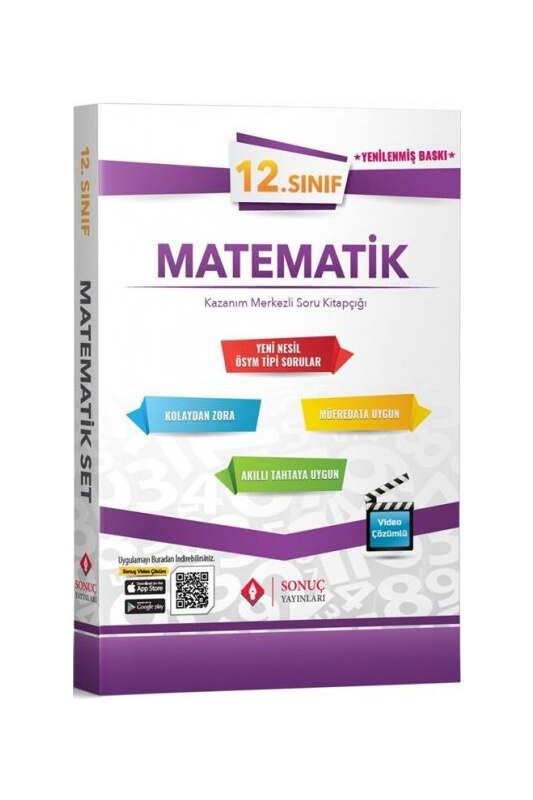 Sonuç Yayınları 12.Sınıf Matematik Kazanım Merkezli Soru Kitapçığı