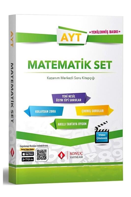 Sonuç Yayınları 2022 AYT Matematik Moduler Set