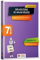Sonuç Yayınları - Sonuç Yayınları 7. Sınıf Din Kültürü ve Ahlak Bilgisi Konu Özetli Soru Bankası