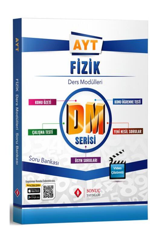 Sonuç Yayınları AYT Fizik DM Ders Modülleri Soru Bankası