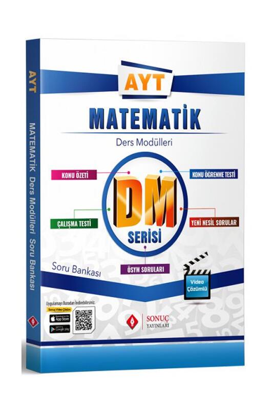 Sonuç Yayınları AYT Matematik DM Ders Modülleri Soru Bankası
