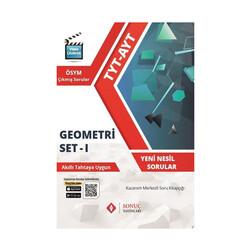 Sonuç Yayınları - Sonuç Yayınları TYT-AYT Geometri Set-1 Kazanım Merkezli Soru Bankası