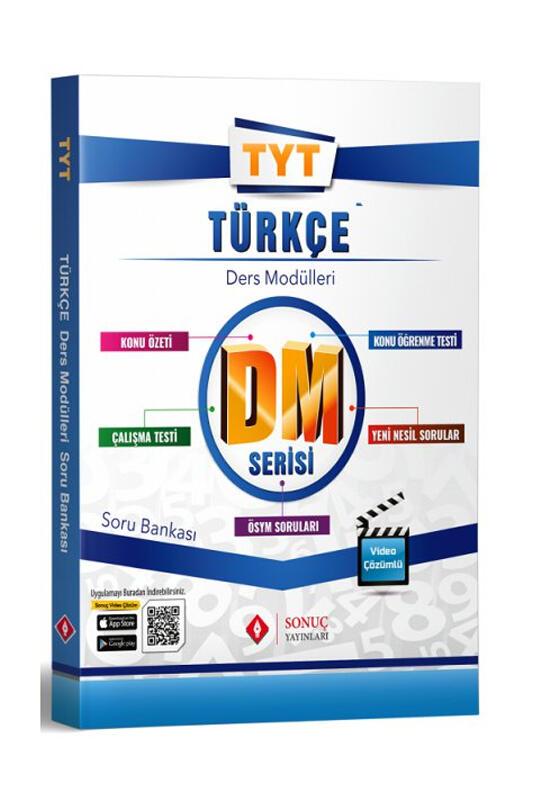 Sonuç Yayınları TYT Türkçe DM Ders Modülleri Soru Bankası