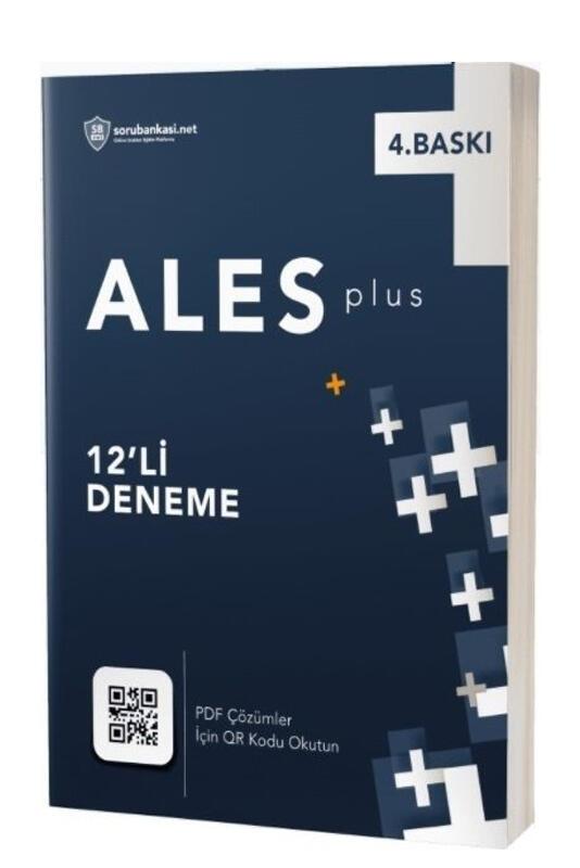 Sorubankası.net ALES PLUS 12 Deneme Dijital Çözümlü 4 Baskı Sorubankası.net Yayınları