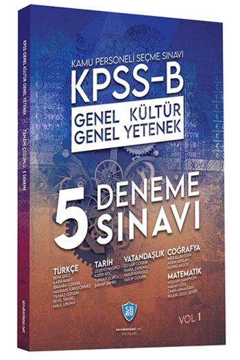 Sorubankası.net Yayınları 2021 KPSS B Genel Yetenek Genel Kültür 5 Deneme Çözümlü