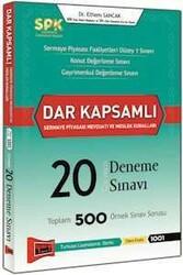 Yargı Yayınları - SPK Dar Kapsamlı Sermaye Piyasası Mevzuatı ve Meslek Kuralları Cevaplı 20 Deneme Sınavı Yargı Yayınları
