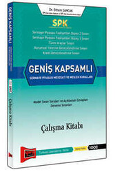 Yargı Yayınları - SPK Geniş Kapsamlı Sermaye Piyasası Mevzuatı ve Meslek Kuralları Çalışma Kitabı Yargı Yayınları