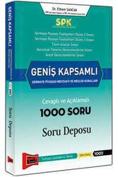 Yargı Yayınları - SPK Geniş Kapsamlı Sermaye Piyasası Mevzuatı ve Meslek Kuralları Cevaplı ve Açıklamalı 1000 Soru Deposu Yargı Yayınları