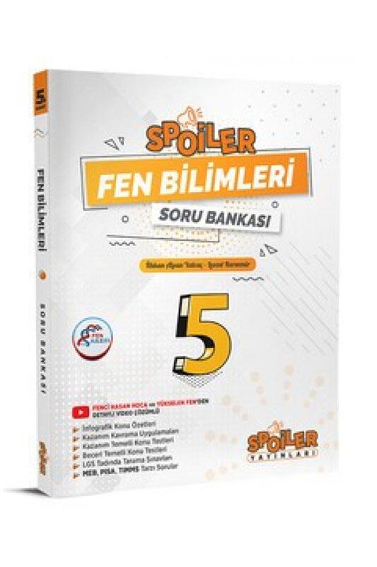 Spoiler Yayınları 5. Sınıf Fen Bilimleri Spoiler Soru Bankası