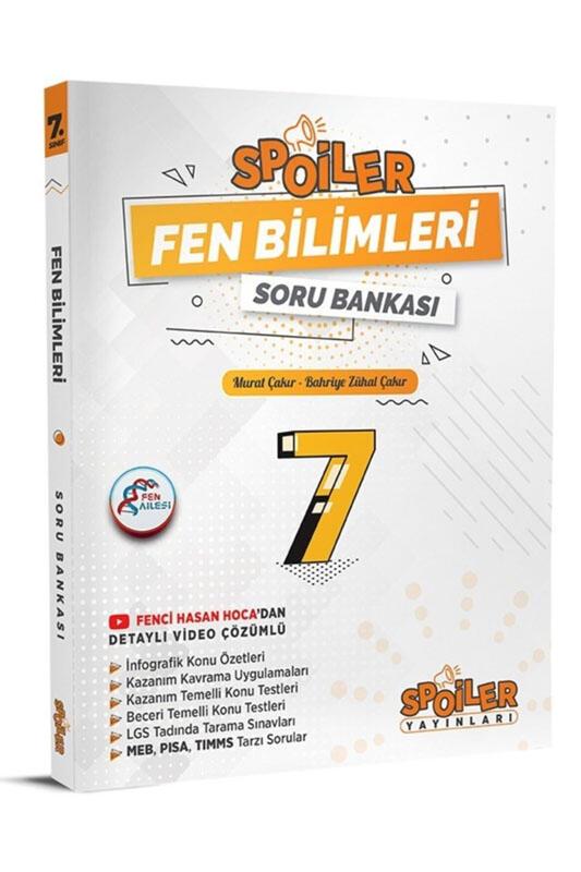 Spoiler Yayınları 7. Sınıf Fen Bilimleri Spoiler Soru Bankası