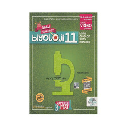 Tammat Yayıncılık - Tammat Yayınları 11. Sınıf Biyoloji Konu Anlatan Soru Bankası