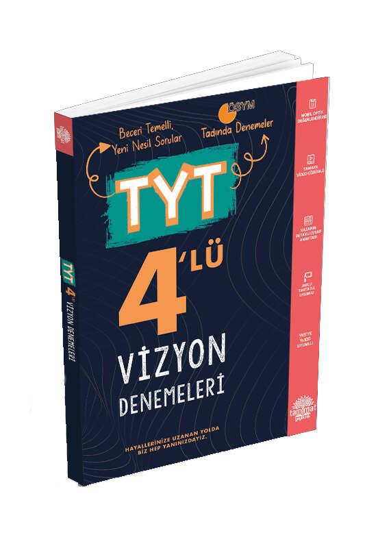 Tammat Yayınları TYT 4 Vizyon Deneme Sınavı