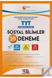 Tandem Yayınları - Tandem Yayınları TYT Sosyal Bilimler 25 Deneme Maraton Serisi