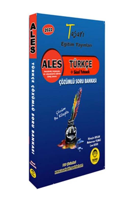 Tasarı Eğitim Yayınları ALES Türkçe Çözümlü Soru Bankası