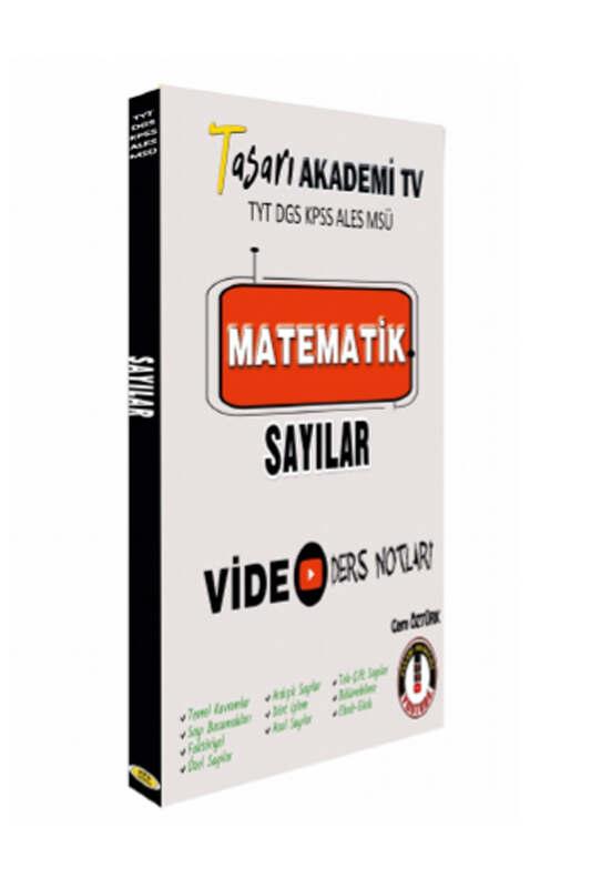 Tasarı Eğitim Yayınları DGS ALES TYT Matematik Sayılar Video Ders Notları
