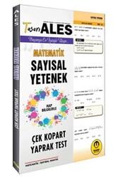 Tasarı Yayınları - Tasarı Yayınları ALES Sayısal Yetenek Çek Kopart Yaprak Test
