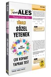 Tasarı Yayınları - Tasarı Yayınları ALES Sözel Yetenek Çek Kopart Yaprak Test