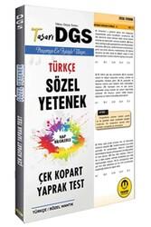 Tasarı Yayınları - Tasarı Yayınları DGS Sözel Yetenek Çek Kopart Yaprak Test