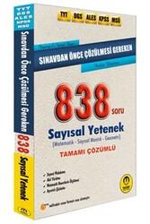 Tasarı Yayınları - Tasarı Yayınları TYT DGS ALES KPSS MSÜ Sınavdan Önce Çözülmesi Gereken Tamamı Çözümlü Sayısal 838 Soru