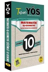 Tasarı Yayınları - Tasarı Yayınları YÖS Matematik IQ-Geometri Çözümlü 10 Deneme Sınavı