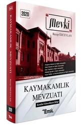 Temsil Yayınları - Temsil Yayınları 2020 Mevki Kaymakamlık Mevzuatı