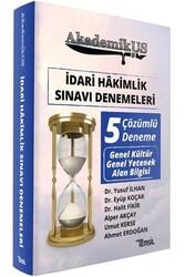 Temsil Yayınları - Temsil Yayınları 2020 AkademikUS İdari Hakimlik Sınavı Denemeleri Çözümlü 5 Deneme