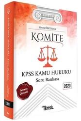 Temsil Yayınları - Temsil Yayınları 2020 KPSS Komite Kamu Hukuku Soru Bankası