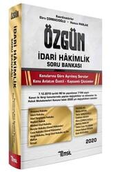 Temsil Yayınları - Temsil Yayınları 2020 Özgün İdari Hakimlik Soru Bankası