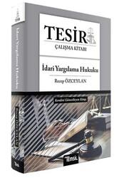 Temsil Yayınları - Temsil Yayınları 2020 TESİR İdari Yargılama Hukuku Çalışma Kitabı