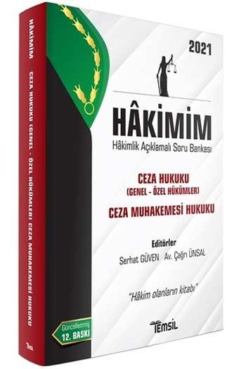 Temsil Yayınları 2021 HAKİMİM Ceza Hukuku (Genel Hükümler- Özel Hükümler) Ceza Muhakemesi Hukuku