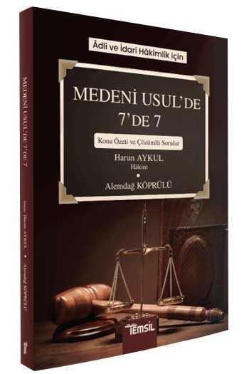 Temsil Yayınları Adli ve İdari Hakimlik İçin Medeni Usul de 7 de 7