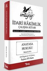 Temsil Yayınları - Temsil Yayınları İmtiyaz İdari Hakimlik Çalışma Kitabı Anayasa Hukuku