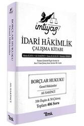 Temsil Yayınları - Temsil Yayınları İmtiyaz İdari Hakimlik Çalışma Kitabı Borçlar Hukuku Genel Hükümler