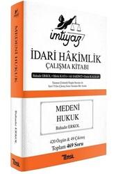 Temsil Yayınları - Temsil Yayınları İmtiyaz İdari Hakimlik Çalışma Kitabı Medeni Hukuk