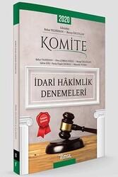 Temsil Yayınları - Temsil Yayınları KOMİTE İdari Hakimlik Denemeleri Tamamı Çözümlü 5 Deneme
