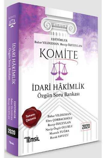 Temsil Yayınları KOMİTE İdari Hakimlik Özgün Soru Bankası