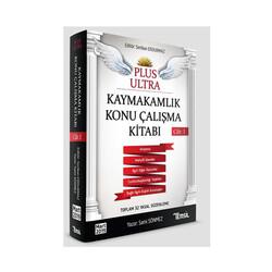 Temsil Yayınları - Temsil Yayınları Plus Ultra Kaymakamlık Konu Çalışma Kitabı Cilt 1