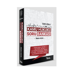 Temsil Yayınları - Temsil Yayınları Son Viraj Kamu Hukuku Soru Bankası