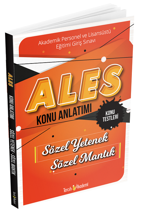 Tercih Akademi ALES Konu Anlatımı Sözel Yetenek Sözel Mantık