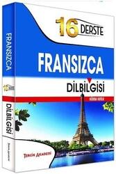 Tercih Akademi - Tercih Akademi Yayınları 16 Derste Fransızca Dil Bilgisi