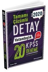 Tercih Akademi - Tercih Akademi Yayınları 2020 KPSS Detay Vatandaşlık Tamamı Çözümlü 20 Deneme