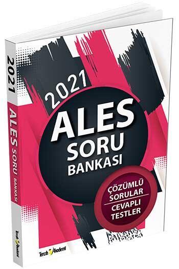 Tercih Akademi Yayınları 2021 ALES Çözümlü Soru Bankası