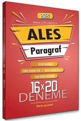Tercih Akademi - Tercih Akademi Yayınları 2021 ALES Paragraf 16×20 Deneme